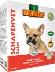 Biofood Schapenvet Mini 80 stuks - Hondensnacks - Zalm