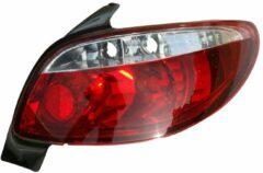 AutoStyle Set Achterlichten Peugeot 206 excl. CC/SW - Rood/Helder - Version II