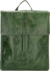 Micmacbags Porto rugzak 15 inch groen