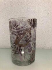 Transparante Merkloos / Sans marque Waxinelichthouder - Glas