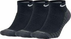 Nike Sokken (regular) - Maat 34-38 - Unisex - zwart,grijs