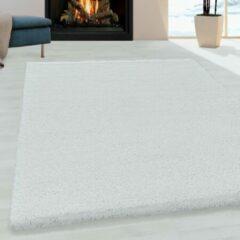 Impression Himalaya Pearl Soft Shaggy Hoogpolig Vloerkleed Wit - 80x250 CM