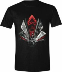 Assassin's Creed Legacy - Eagle Dive Heren T-Shirt - Zwart - S
