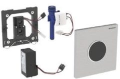 Geberit Sigma 10 urinoir stuursysteem Sigma 10 SF infrarood netspanning 13x13cm RVS