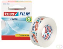 Tesafilm Crystal, ft 33 m x 19 mm, doosje met 1 rolletje