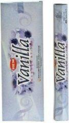 Bruine HEM Wierook - Vanilla - Slof (6 pakjes/120 stokjes)