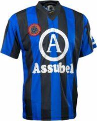 Blauwe Club Brugge retro shirt Assubel maat Small