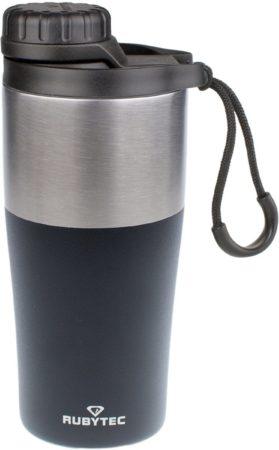 Afbeelding van Zwarte RUBYTEC Shira Bigshot Drinkfles - 350 ML - Zwart