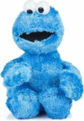 Pluche Sesamstraat Koekiemonster 38 cm speelgoed knuffel - Blauwe Cookie Monster Cartoon knuffeldieren