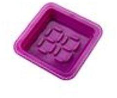 Paarse E-my Dessert Roundy - Bakvorm - Siliconen - Paars