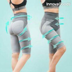 Grijze Innovagoods Tourmaline Slimming Afslankgordel broeken Maat M