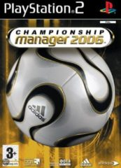 Eidos Interactive Championship Manager 2006 /PS2