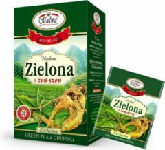 Malwa Groene thee met ginseng 20 x 1.5g