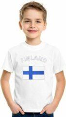 Witte Bellatio Decorations Unisex T-shirt Maat 158/164