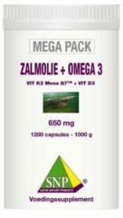 Snp Zalmolie & Omega 3 Megapack (1200ca)