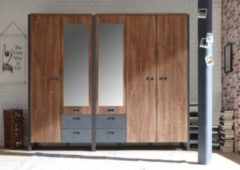 Kleiderschrank Set Stirling Oak/ Matera IMV Detroit