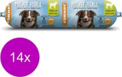 Fokker Dog Meat Roll - Hondenvoer - 14 x Lam 800 g