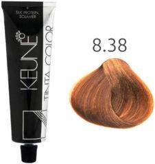 Keune - Tinta Color - 8.38 Licht Hazelnoot Blond - 60 ml