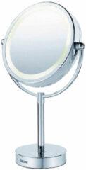 Tegeldepot Scheerspiegel Beurer Met LED verlichting 230V Ø15cm Staand Vergrotend Chroom
