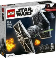Donkergrijze LEGO Imperial TIE Fighter - 75300