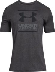 Under Armour GL Foundation SS T Sportshirt Heren - Grijs - Maat XL