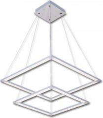 KIOM LED Pendelleuchte Arvid P1 55x55cm 59W 4000K Aluminium 10711