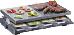 Steba Germany RC58 Gourmetstel 8 pannen, Met handmatige temperatuursinstelling Zwart