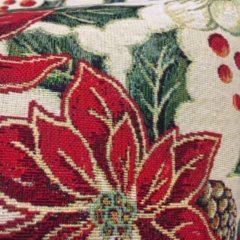 Rode Emme Boodschappentas - luxe gobelinstof - Christmas Bardi - Kerst