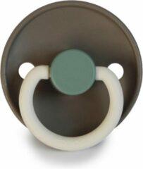 FRIGG Fopspeen Color maat 2 - 6-18 maanden - Hudson Bay - Natuurrubber