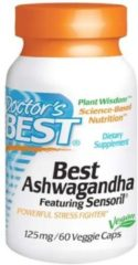Brand Ashwagandha met Sensoril, 125mg - 60 veggie caps