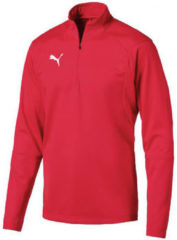 Rode T-Shirt Lange Mouw Puma Liga Training 1/4 Zip Top