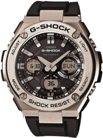 Afbeelding van Casio G-Shock GST-W110-1AER G-steel horloge 52 mm