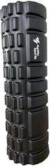 Agility Sports Yoga Grid Foam Roller - Foam roller the grid - Foamroller - Fitness Roller - 33cm - Zwart