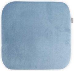 Nolon universeel zitkussen - Rechthoek - Velvet - Lichtblauw