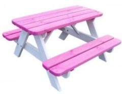 SenS-Line Kinderpicknicktafel Minnie roze/wit