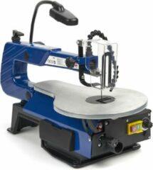 Blauwe Lemato Variabele Figuurzaagmachine Met Verlichting en Stofblaassysteem