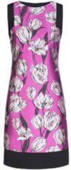 Elegantes Kleid PAULA mit femininem Blumen-Muster Nicowa black rose