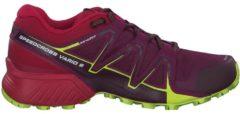 Trail Running Schuhe Speedcross Vario 2 W mit Siping-Rillen 400716 Salomon Dark Purple/Cerise/Acid Lime