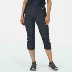 Regatta - Women's Chaska II Capri Walking Trousers - Outdoorbroek - Vrouwen - Maat 42 - Grijs