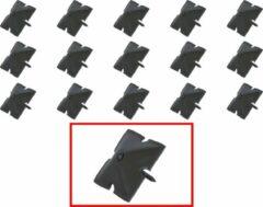 AMIG – Stalen Stoffeernagels Siernagels Meubelnagels Sierspijkers – 40 x 40 x 35mm - Pyramidevorm – Zwart – Rustiek Ornament – 16 stuks