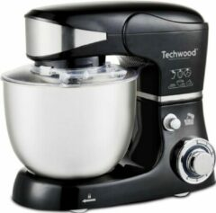 Roestvrijstalen Techwood - staande mixer – keukenmachine – 1000 Watt