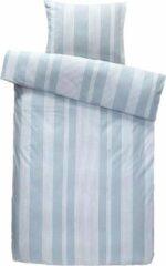 Blauwe Homéé® Dekbedovertreksets Chambray - eenpersoons 140x200/220 cm +1 sloop - 100% percale Katoen