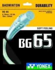 Yonex BG 65 badminton bespanning