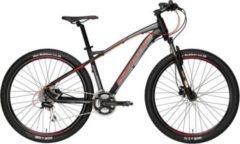27,5 Zoll Herren Mountainbike 24 Gang Adriatica Wing... schwarz-rot, 39 cm