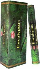 Groene Eucalyptus wierook (HEM) - 6 pakjes