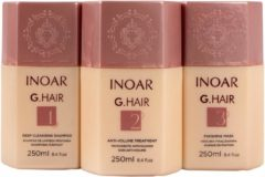 Kit Lissage 3x250ml Original Inoar Ghair