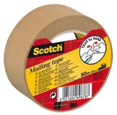 3M 7000095747 Pakband Scotch Bruin (l x b) 50 m x 50 mm 1 rol/rollen