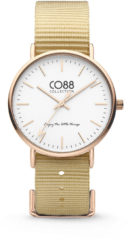 CO88 Collection Watches 8CW 10021 Horloge - Nato Band - Ø 36 mm - Beige