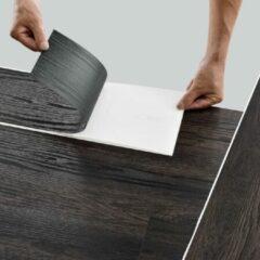 Neu.holz PVC laminaat zelfklevend set van 42 Dark wood wenge 5,85 m²