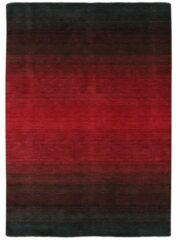Zwarte MOMO Rugs Laagpolig vloerkleed MOMO Rugs Panorama Black Red 60x90 cm